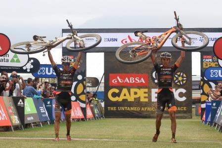 Damiano Ferraro at Absa Cape Epic (2016)