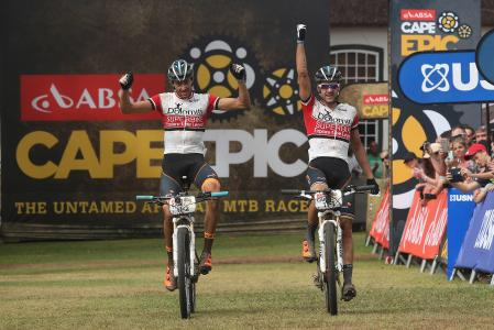 Periklis Ilias at Absa Cape Epic (2016)