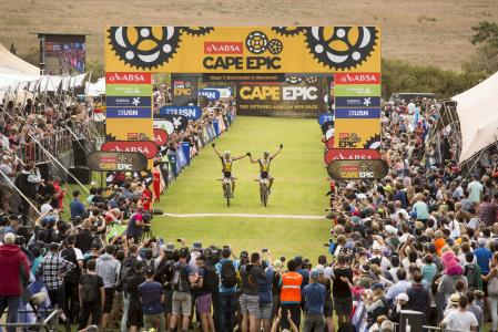 Karl Platt at Absa Cape Epic (2016)