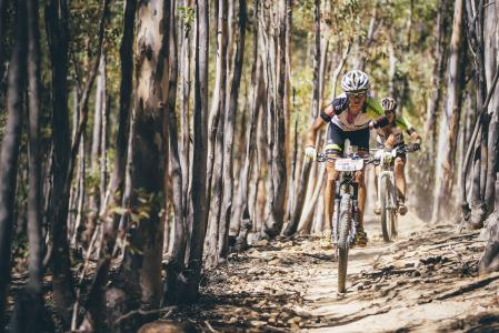 Catherine Hare Willianson at Absa Cape Epic (2016)