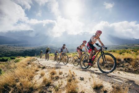 Ariane Kleinhans at Absa Cape Epic (2016)
