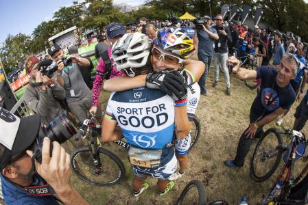 Yana Belomoyna at Absa Cape Epic (2016)