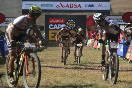 Christoph Sauser at Absa Cape Epic (2017)