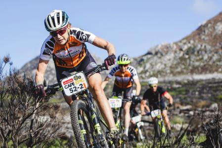 Jennie Stenerhag at Absa Cape Epic (2017)