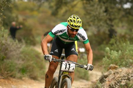 Alban Lakata at Andalucía bike race (2015)