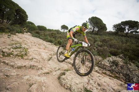Cristofer Bosque Ruano at Andalucía Bike Race presented by Shimano (2016)