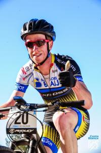 Jonas De Backer at Costa blanca bike race (2015)