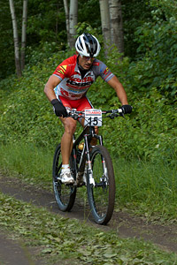 Marek Rauchfuss at Czech national MTB cup #3 - Kutna Hora (2012)