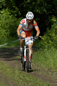 Tomas Bartak at Czech national MTB cup #3 - Kutna Hora (2012)