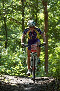 Lenka Bulisova at Czech national MTB cup #3 - Kutna Hora (2012)
