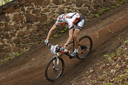Marcin Kawalec at Czech MTB cup (2013)