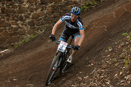 Milan Spěšný at Czech MTB cup (2013)