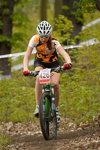 Lucie Kubinova at Czech MTB cup (2013)