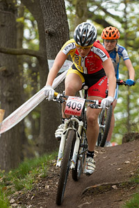 Sona Jurkova at Czech MTB cup (2013)