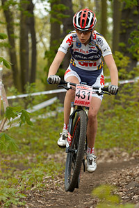 Stefania Staszel at Czech MTB cup (2013)