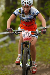 Vendula Kuntova at Czech MTB cup (2013)