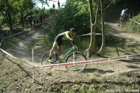 Cristian Cominelli at Czech MTB cup (2015)