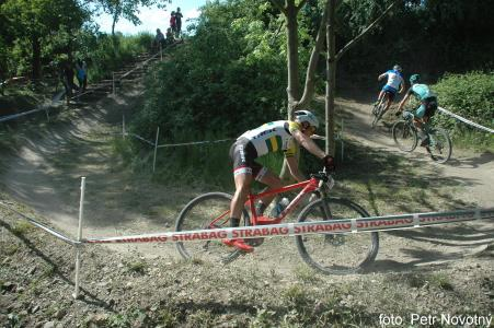 Daniel McConnell at Czech MTB cup (2015)