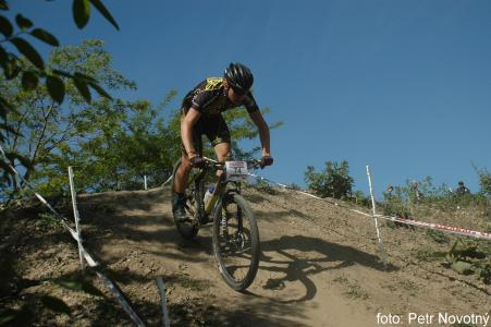 Filip Kubin at Czech MTB cup (2015)