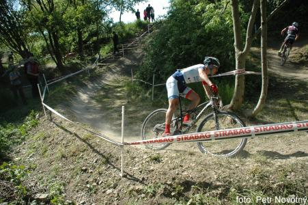 Jan Rajchart at Czech MTB cup (2015)
