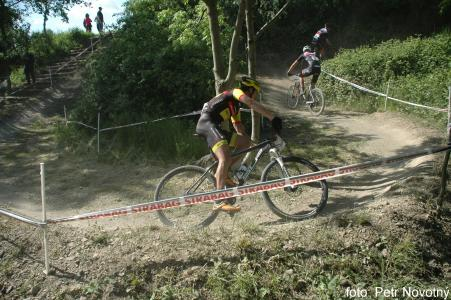 Jiri Novak at Czech MTB cup (2015)