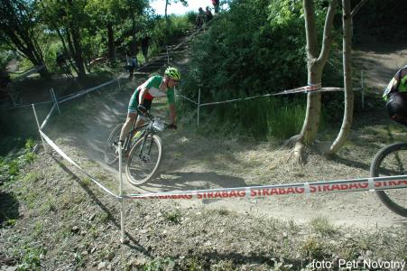 Luca Braidot at Czech MTB cup (2015)