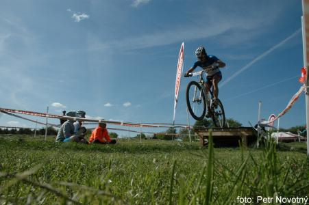 Milan Damek at Czech MTB cup (2015)