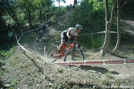 Sergio Mantecon Gutierrez at Czech MTB cup (2015)