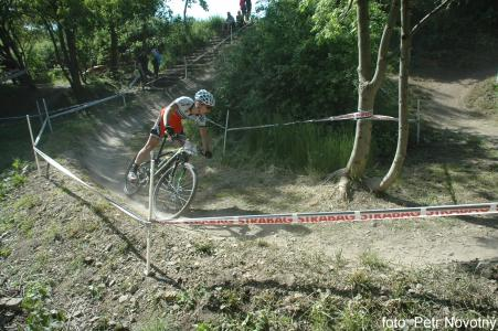 Tomas Paprstka at Czech MTB cup (2015)