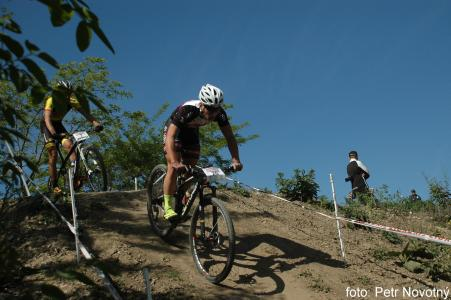 Zdenek Vobecky at Czech MTB cup (2015)
