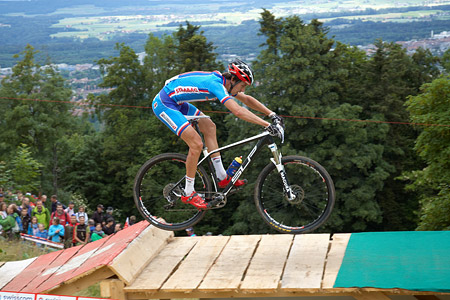 Jiri Novak at European Continental Championships - XCO - Bern (2013)