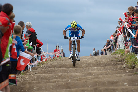 Michele Casagrande at European Continental Championships - XCO - Bern (2013)