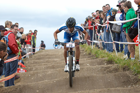 Shlomi Haimy at European Continental Championships - XCO - Bern (2013)
