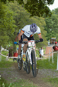Georg Egger at European Continental Championships - XCO - Bern (2013)
