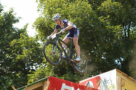 Hugo Briatta at European Continental Championships - XCO - Bern (2013)