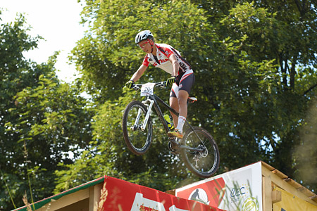 Max Foidl at European Continental Championships - XCO - Bern (2013)