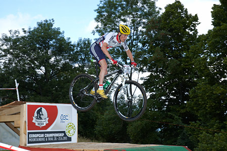 Michael Thompson at European Continental Championships - XCO - Bern (2013)
