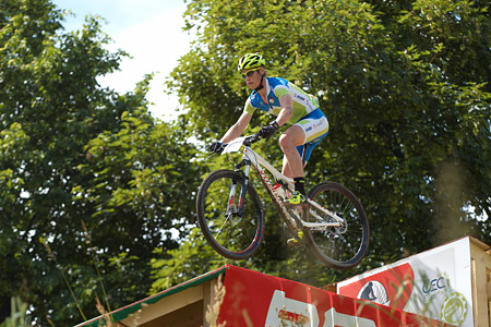 Peter Zupancic at European Continental Championships - XCO - Bern (2013)