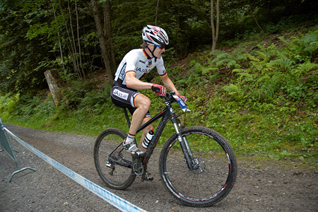 David Simon at European Continental Championships - XCO - Bern (2013)