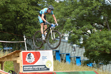 Jeff Luyten at European Continental Championships - XCO - Bern (2013)