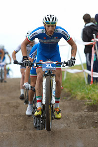 Lorenzo Samparisi at European Continental Championships - XCO - Bern (2013)