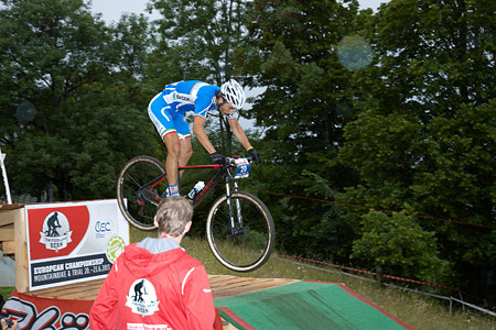 Nicholas Pettina at European Continental Championships - XCO - Bern (2013)