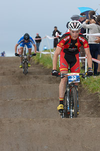 Pablo Rodriguez Guede at European Continental Championships - XCO - Bern (2013)