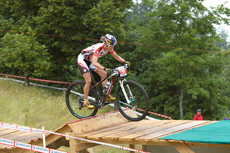Elisabeth Osl at European Continental Championships - XCO - Bern (2013)