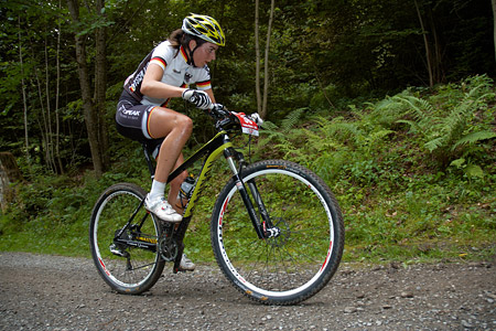 Nadine Rieder at European Continental Championships - XCO - Bern (2013)