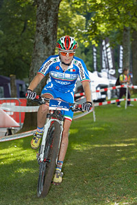 Emilie Collomb at European Continental Championships - XCO - Bern (2013)