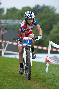 Jelena Eric at European Continental Championships - XCO - Bern (2013)