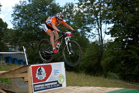 Anne Terpstra at European Continental Championships - XCO - Bern (2013)