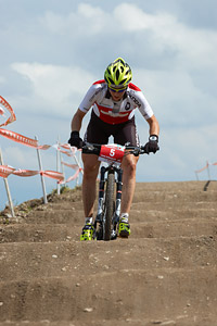 Linda Indergand at European Continental Championships - XCO - Bern (2013)