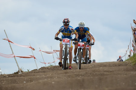Yana Belomoyna at European Continental Championships - XCO - Bern (2013)